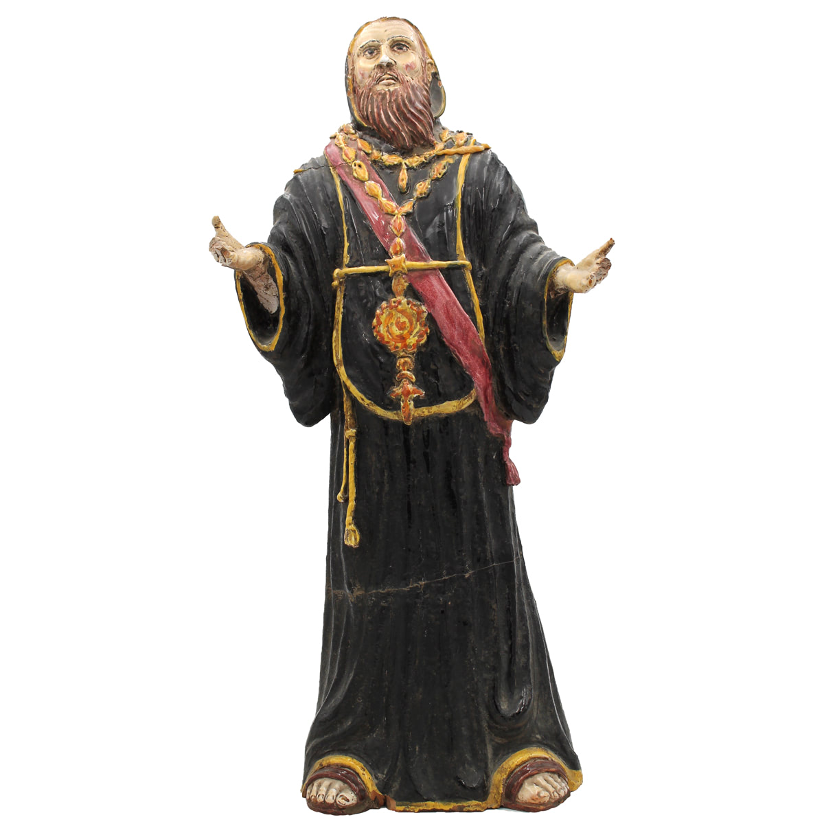 FIGURA DI MONACO-FIGURE OF MONK