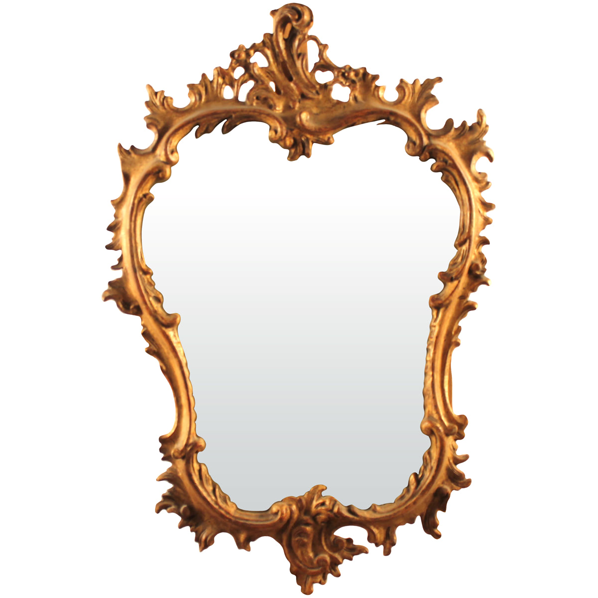 SPECCHIERA IN LEGNO SCOLPITO E DORATO-MIRROR IN CARVED AND GOLDEN WOOD